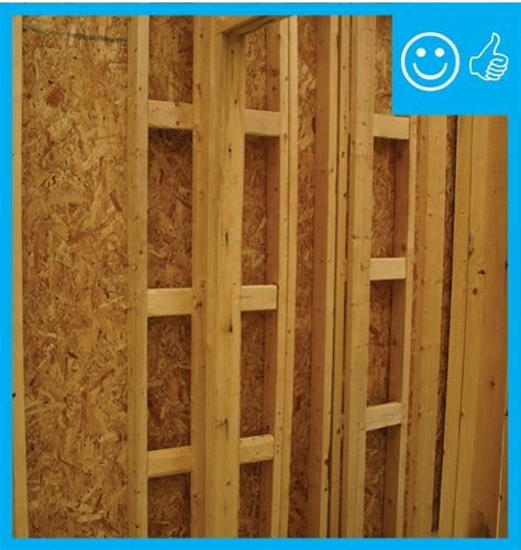 advanced framing insulated interiorexterior wall