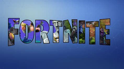 fortnite logo wallpapers  wallpapersafari
