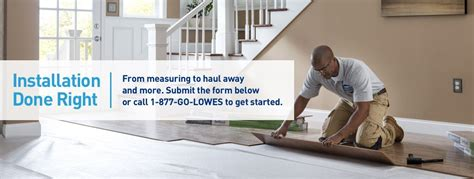 Flooring Installation Services From Lowe's