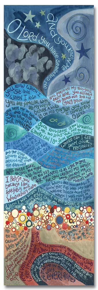 psalm bookmark ben hannah dunnett