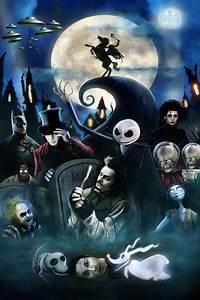 Tim Burton Characters by MrCrazyDragonpenguin deviantart  on @deviantART Nightmare Before