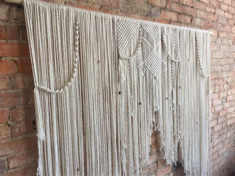 Backdrop Wall Hanging by Macrame Wedding Sweetheart Table Backdrop Wall Hanging