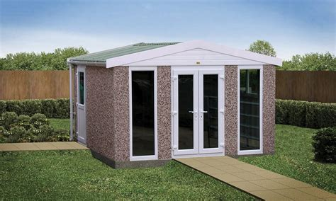 shed roof house sectional concrete garden rooms buildings lidget compton
