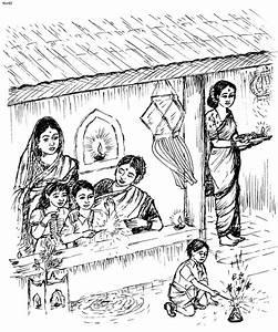 Deepavali Festival Drawing for Kids - Diwali Drawings