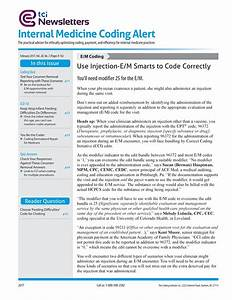 Internal Medicine Coding Alert  Challenges And Guidelines