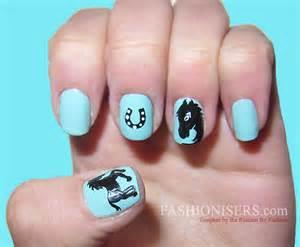 Cute horse nail art designs fashionisers