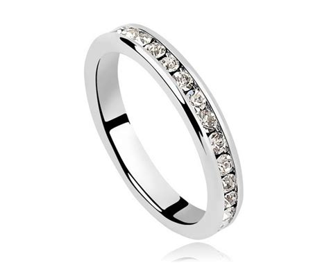 Circle Ring Cheap Engagement Rings For Men Wedding Jewelry