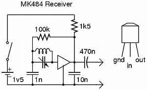 alan yates39 laboratory mk484 mw receiver With circuit board scrap