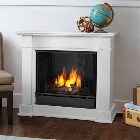 gel fuel fireplace real devin 36 in ventless gel fuel fireplace in