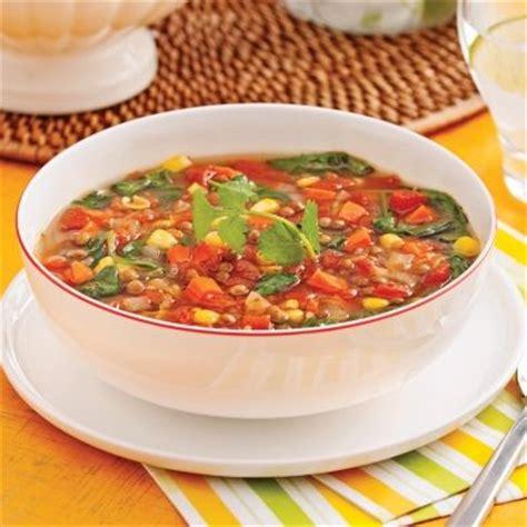 cuisiner des lentilles en boite soupe mexicaine huile d 39 olive oignon carotte ail