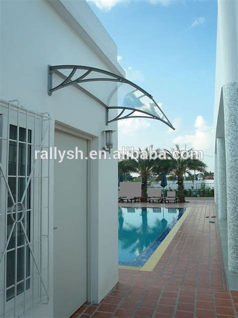 Glass Awning Residential - glass canopy residential design for entrance doors