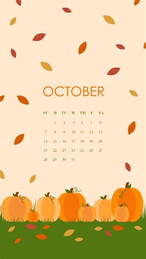 october  halloween calendar  iphone fony dlya iphone