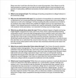 Research Paper Proposal Template