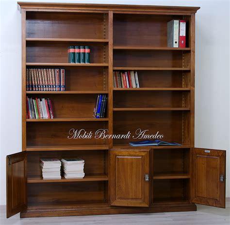 libreria noce librerie in legno massello 14 librerie