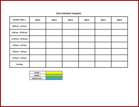 Schedule Template Free Printable Weekly Work Schedule Template Excel Template
