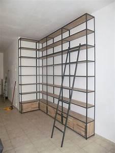 Etagere Industrielle Murale : etagere murale industrielle maison design ~ Preciouscoupons.com Idées de Décoration