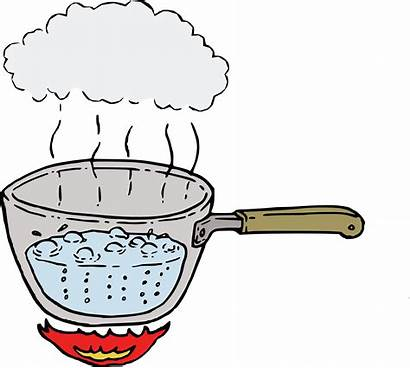 Boiling Water Clipart Steam Boil Drawing Steaming