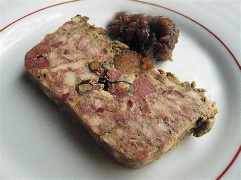 terrine maison et oignons confits at le passage by bruno verjus of food intelligence by