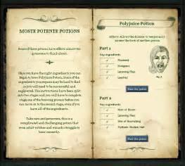 Harry Potter Potions Recipes