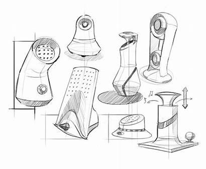 Speaker Sketch Speakers Drawing Sketches Industrial Portable