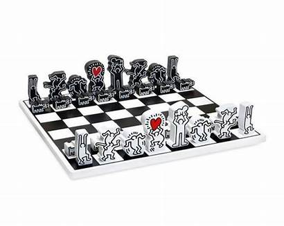 Haring Keith Chess Scacchi Vilac Gift Thoughtful
