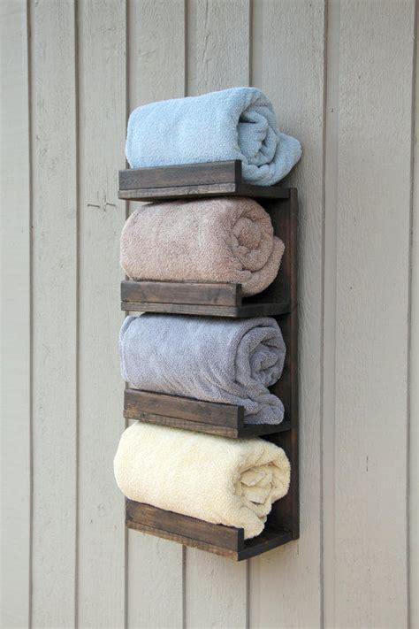 bathroom towel rack  tier bath storage everyday towel rack