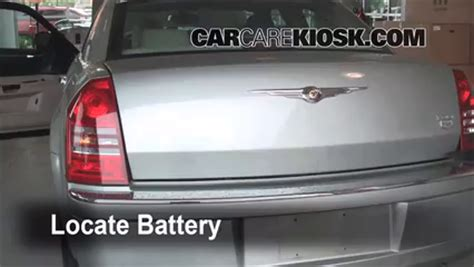 2005 Chrysler 300 Battery by Battery Replacement 2005 2010 Chrysler 300 2005