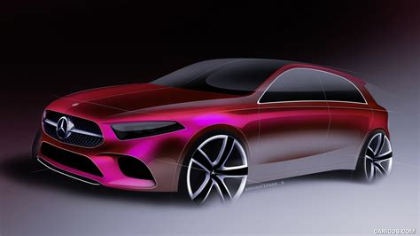 mercedes benz  class design sketch hd wallpaper