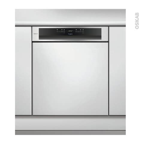 lave vaisselle 14 couverts int 233 grable 60 cm inox whirlpool