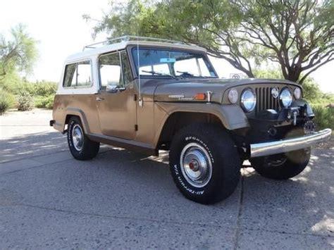 1970 jeep commando buy used 1970 jeepster commando deluxe wagon survivor in