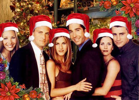 friends say merry christmas friends fan art 2964228