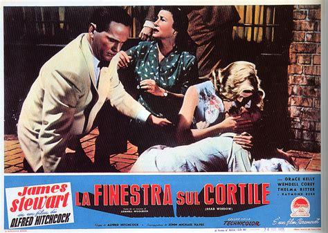 La Finestra Sul Cortile Ita by Poster Locandine E Fotobuste Rear Windows Alfred