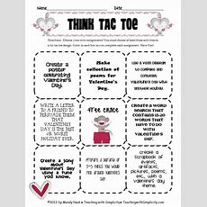 Differentiated Instruction With Thinktactoe  Education  Differentiated Instruction