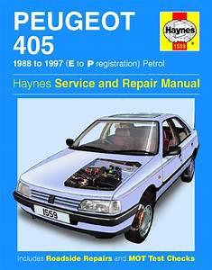 Haynes Manual Peugeot 405 Petrol  1988