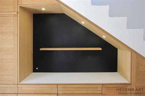 amenagement cuisine salon salle a manger hegenbart meuble sur mesure pour séjour et entrée