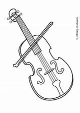 Instruments Coloring Musical Violin Pages Instrument Music Printable Drawings Sheets Cliparts Sheet Playing Clipart Drawing Dis раскраски Piano Kid Children sketch template