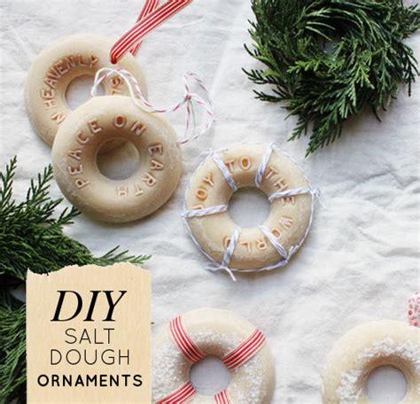 diy salt dough ornaments design sponge