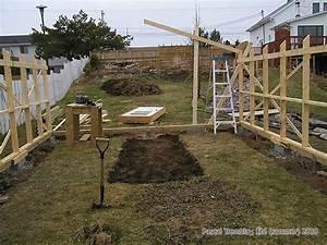 Construire Une Serre Pas Cher : serre en bois construire la structure d 39 une serre plan id e ~ Premium-room.com Idées de Décoration