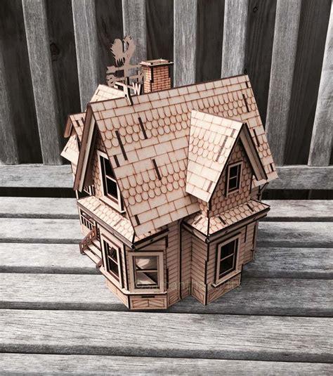 house detailed mdf model kit diy samantha