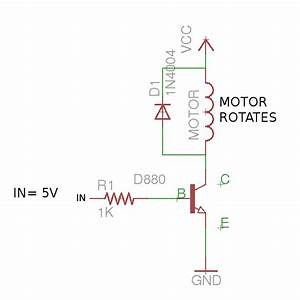 dc motor driver circuits With above fig 2 a wiring diagram of a for ward and reverse jogging