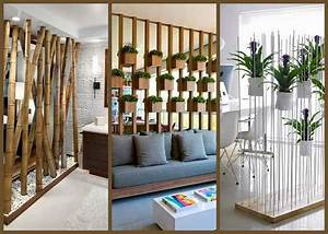 28 Wonderfully Designed Room Divider Ideas- Plan n Design