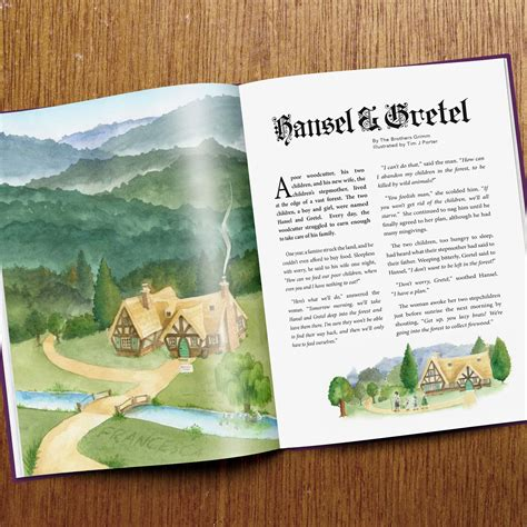 Personalised Fairytale Collection Book