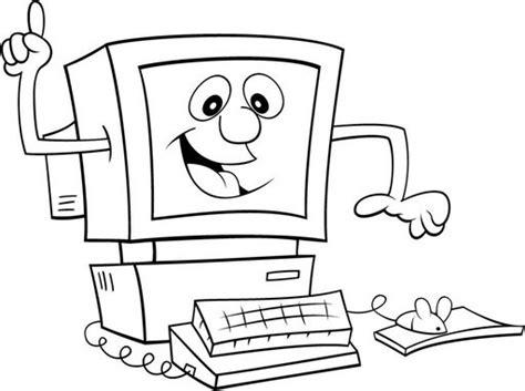 Mi colección de dibujos: ♥ Informática dibujos para colorear
