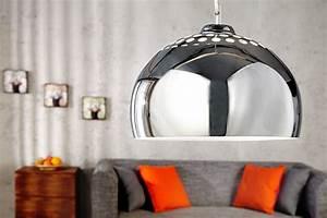 Designer Hängelampen Esstisch : designer h ngelampe chrome ball chrom pendelleuchte riess ~ Markanthonyermac.com Haus und Dekorationen