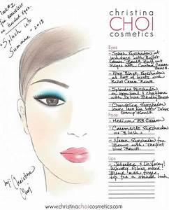 Skin Care Face Chart