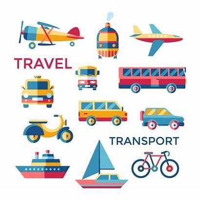 Transport Vector Elements Freepik Travel Reception Vectors