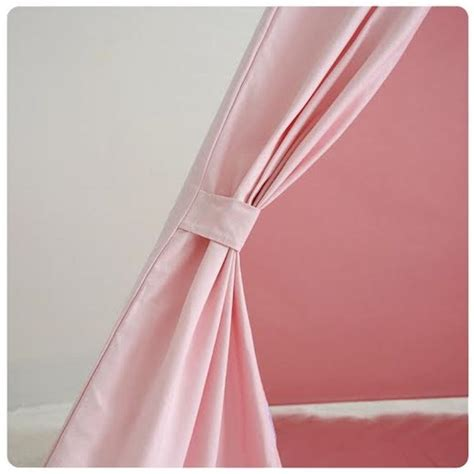 kids large canvas cotton pink teepee indoor outdoor tipi