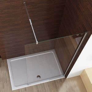 Bodengleiche Dusche Mit Faltbarer Duschabtrennung : duschabtrennung spritzschutz f r dusche und badewanne ~ Orissabook.com Haus und Dekorationen