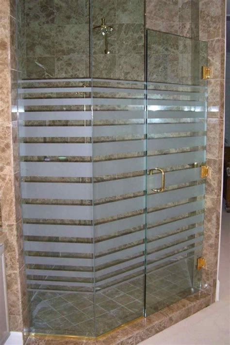 frosted shower doors glass shower doors sans soucie glass