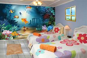 Wall designs for kids room peenmediacom for Images of desing of room wall
